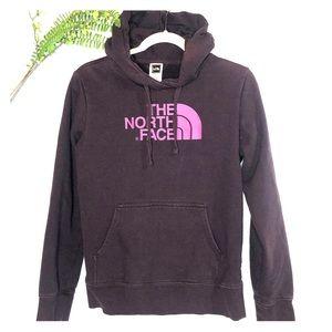 The North Face Purple Hoodie Sweatshirt